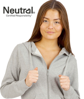 eco hoodies med zip